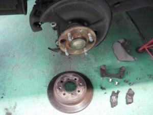 ブレーキ修理