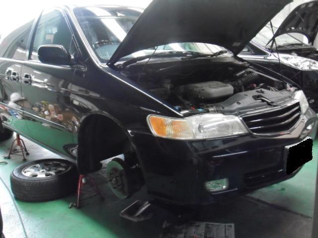 M様ラグレイト車検整備&AT修理